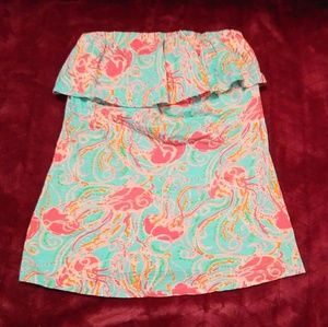 Lilly Pulitzer Jellies Be Jammin Wiley Tube Top